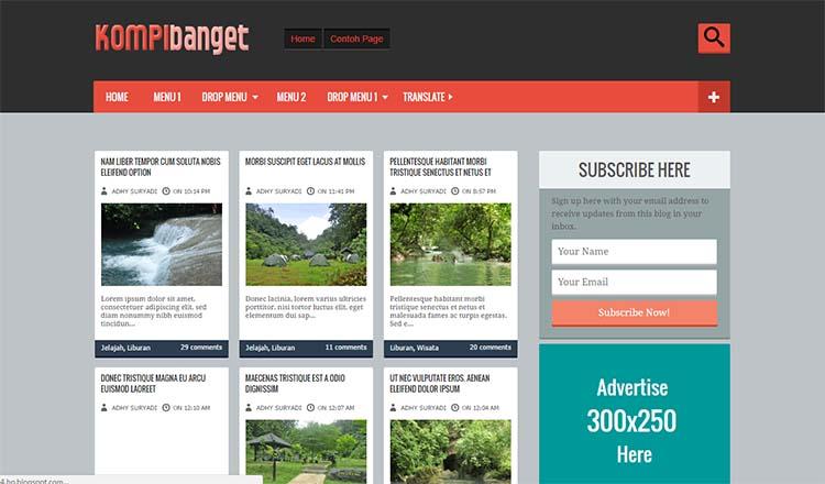Free Blogger Template - Kompi Banget