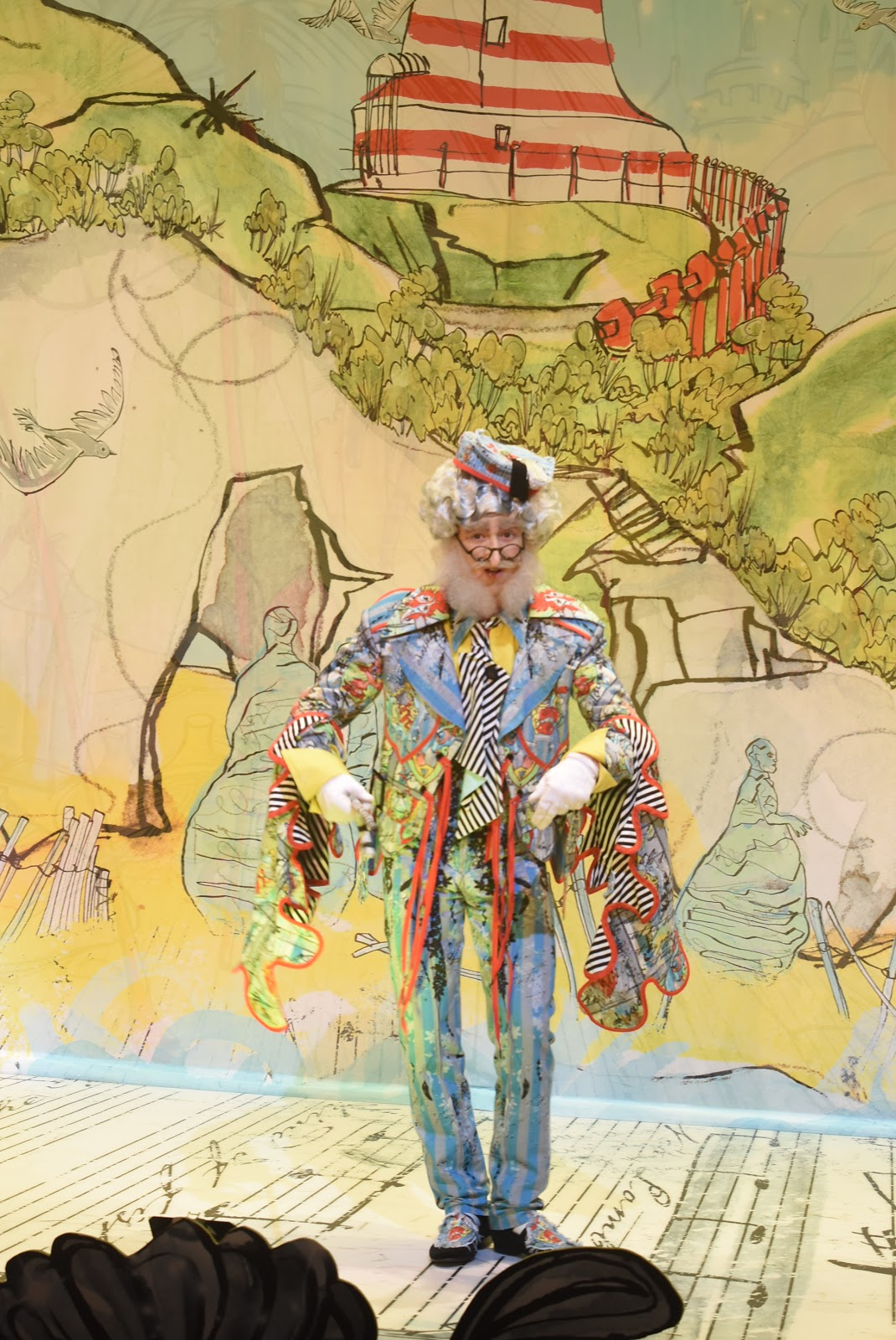 Cal Halbert as Lord Larry Lambton in The Customs House pantomime