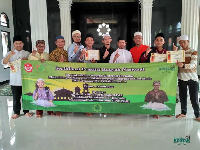 Sertifikasi Praktisi Ruqyah Nasional di Usia Muda
