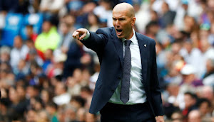 Real Madrid Resmi Umumkan Zinedine Zidane Hengkang