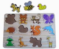 Puzzle Untuk Anak Baby Animal