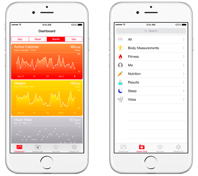 New Health App available with iOS 9.3