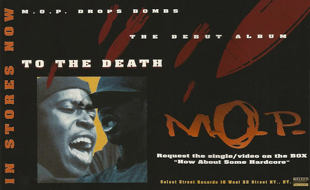 M.O.P. To The Death Advertisement 1994