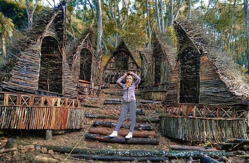 Wisata Jogja Seribu Batu Songgo Langit