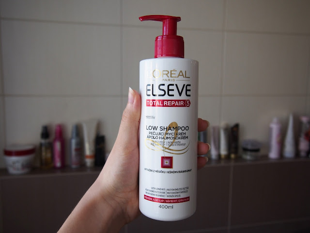 low shampoo Elséve Total Repair 5