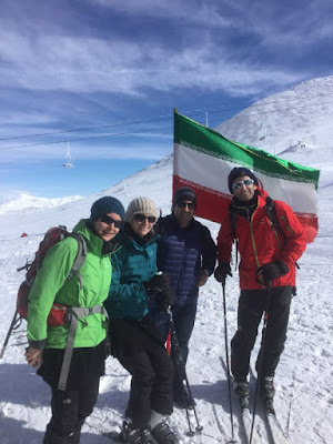 Uppersia offers a range of customized guided ski tours in winter. Like our passengers from France you don't necessarily need to be an expert. Enjoy fantastic snow and take advantage of all the diverse landscapes that Tochal ski slope in Tehran has to offer!