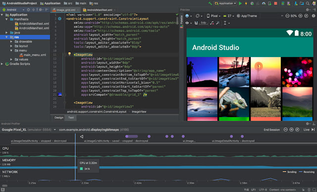 Download and setup Android Studio ide 191