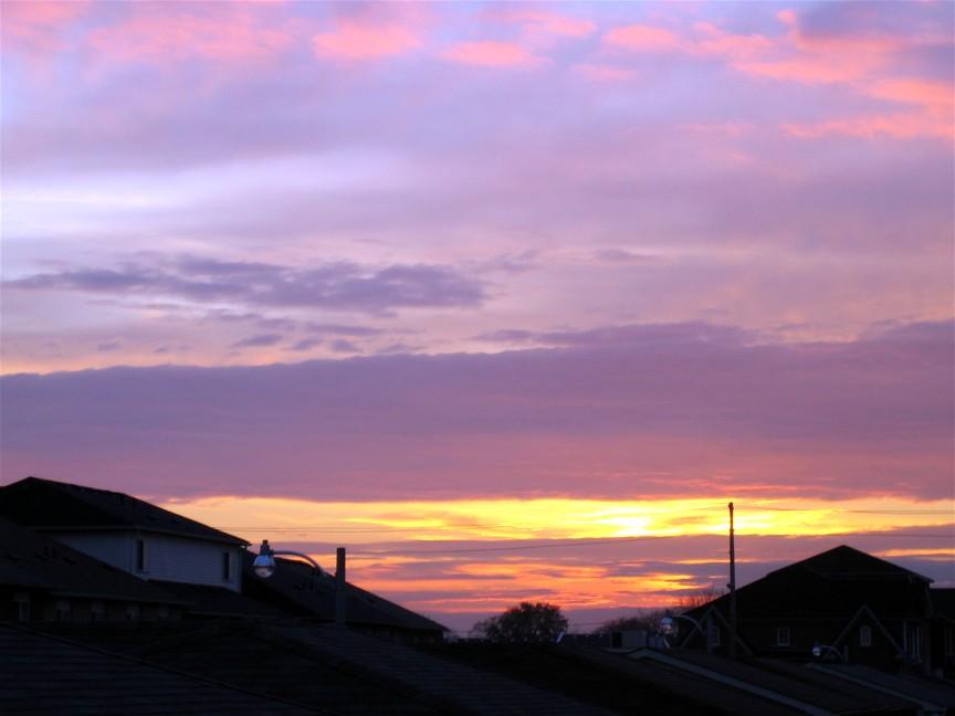 Gambar Langit Merona