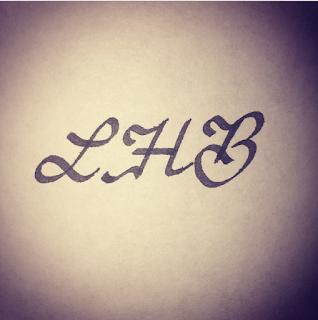 LHB Calligraphy initials