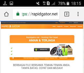 situs upload file rapidgator