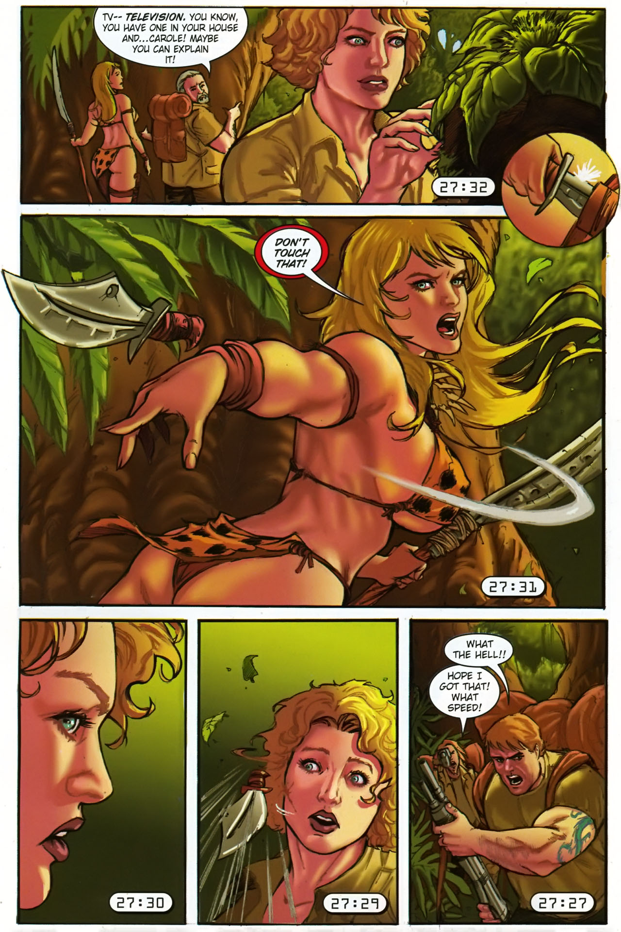 Read online Jungle Girl comic -  Issue #1 - 17