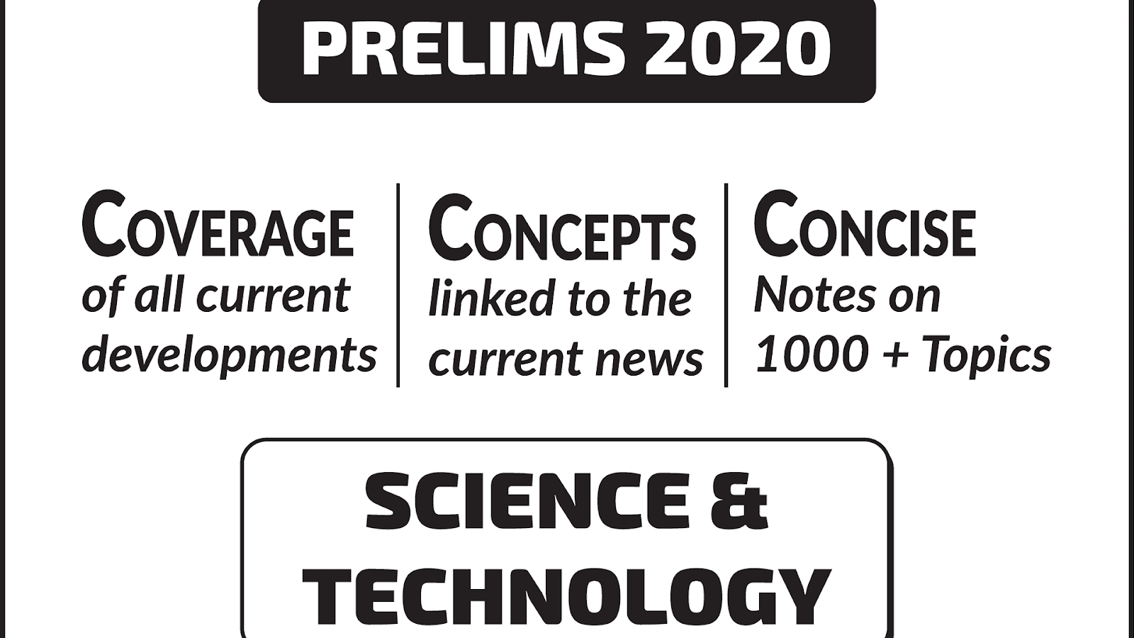 Science Technology UPSC CSE Material