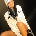 Andrea Rincon, Selena Spice Galeria 19: Buso Blanco y Jean Negro, Estilo Rapero Foto 97