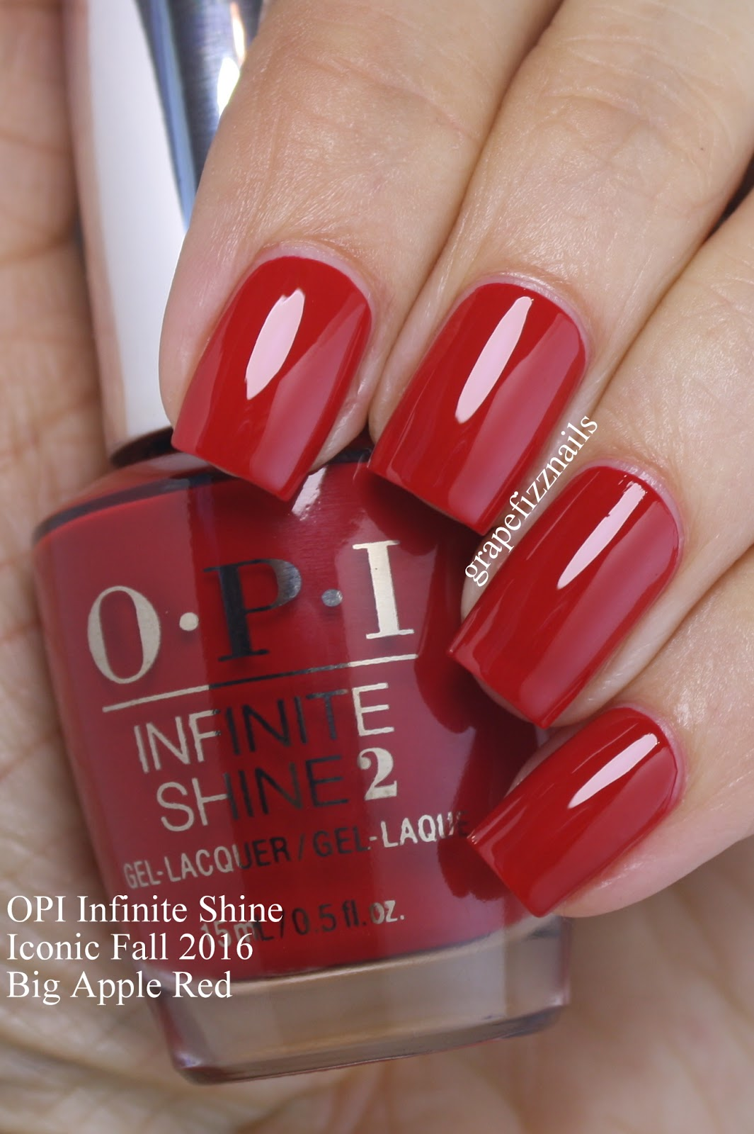 Grape Fizz Nails: OPI Infinite Shine Iconic Shades for Fall 2016