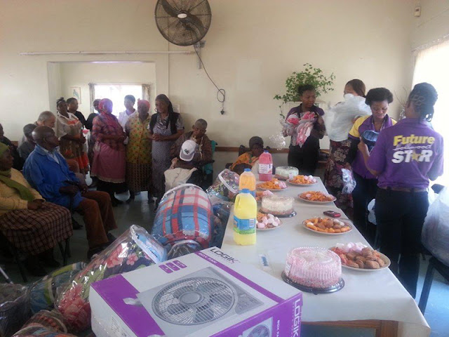 Hollywoodbets Mthatha donated new bedding and fans to the Empilweni Old Age Home - Social Responsibility