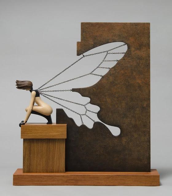 Green Pear Diaries, arte, escultura, John Morris, Butterfly Effect, Efecto Mariposa