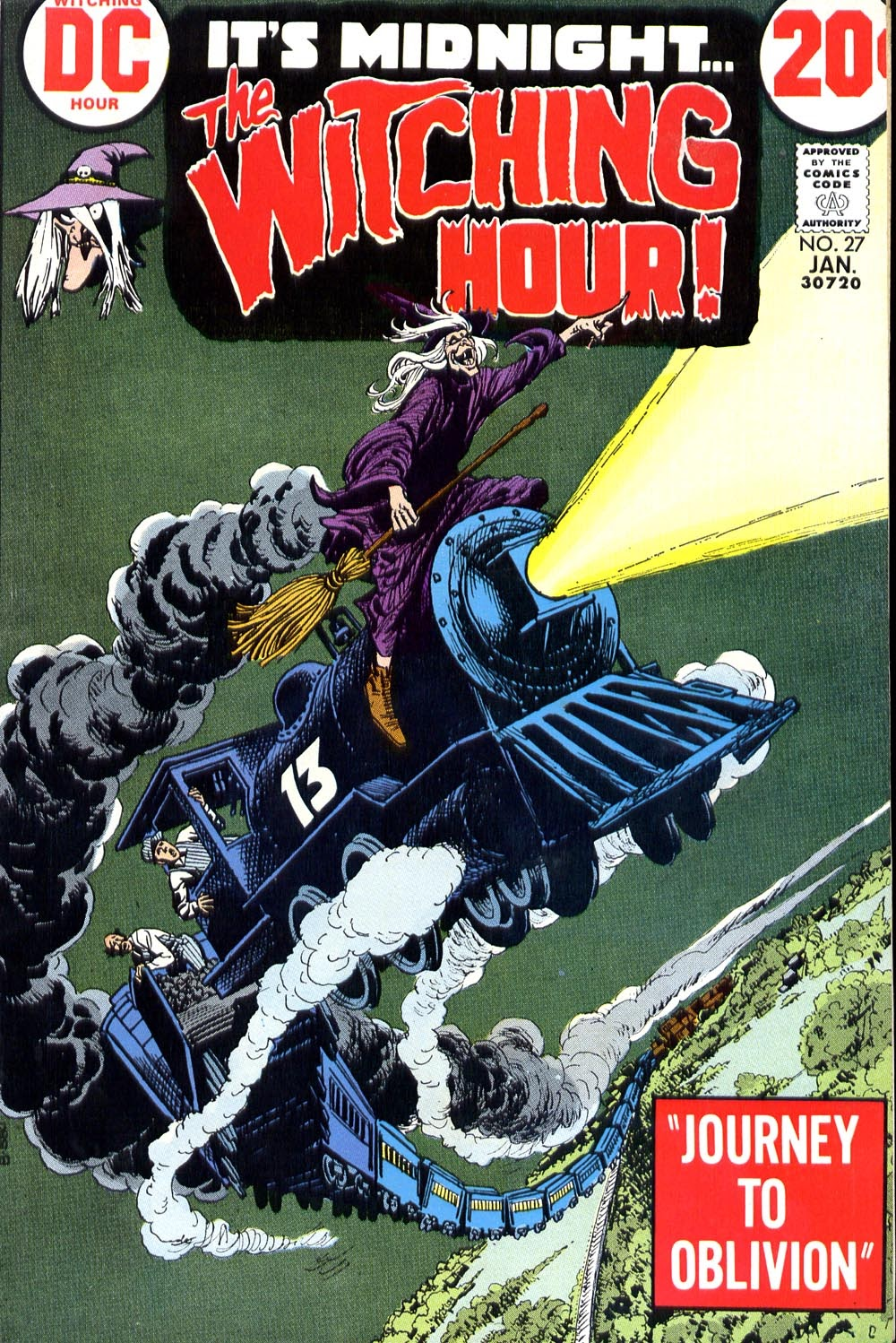 The Witching Hour (1969) issue 27 - Page 1