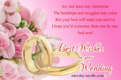 Wedding Congratulations wishes Messages
