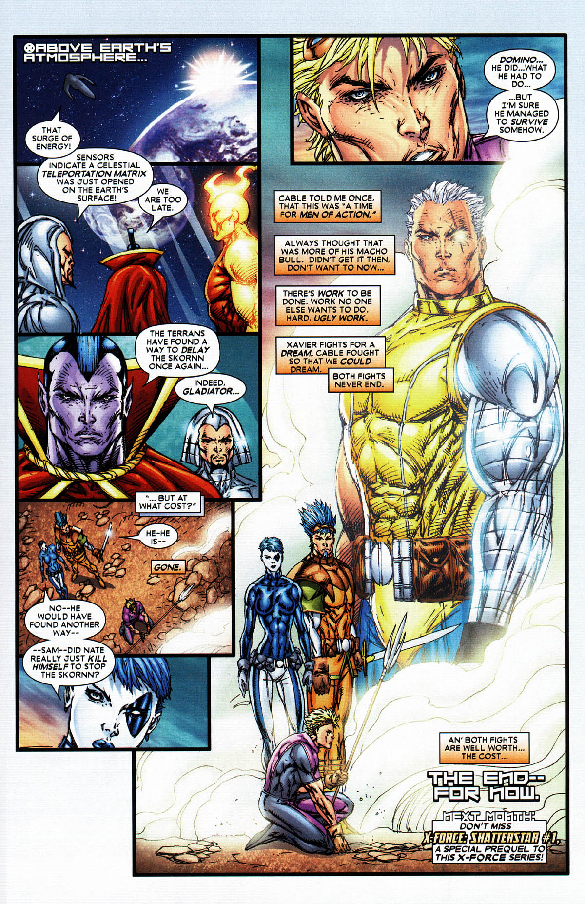 Read online X-Force (2004) comic -  Issue #6 - 31