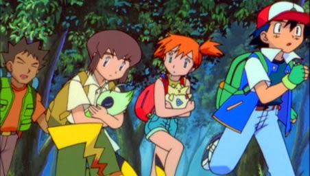 la pelicula de pokemon celebi la voz del bosque