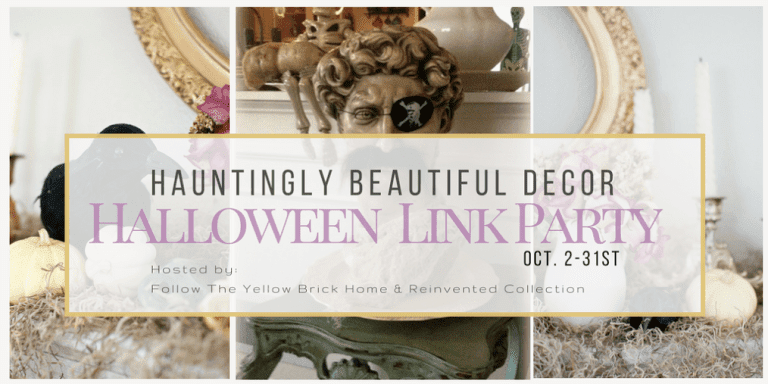 Hauntingly Beautiful Decor Halloween Link Party!!