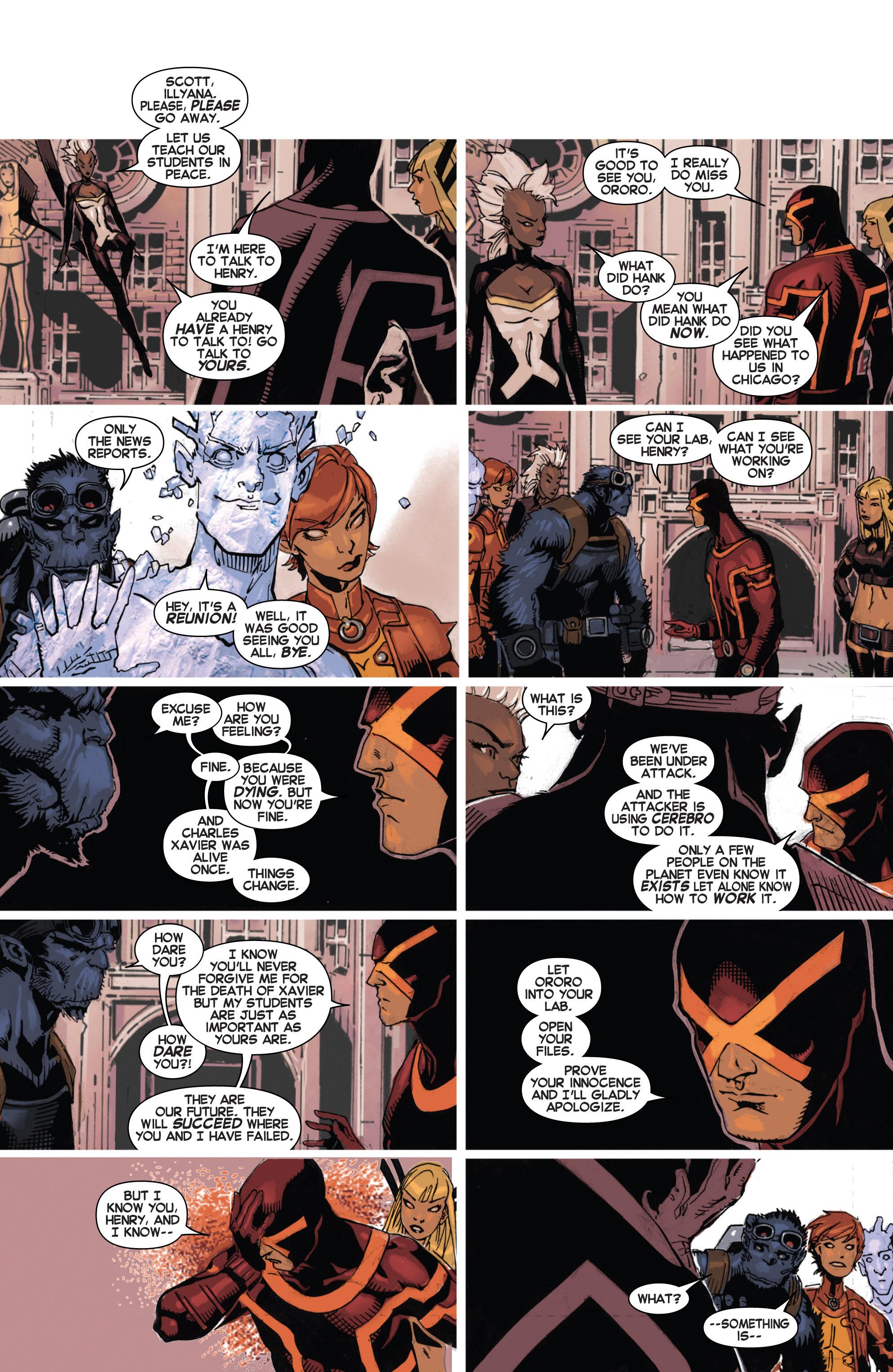 Read online Uncanny X-Men (2013) comic -  Issue # _TPB 4 - vs. S.H.I.E.L.D - 40