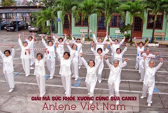 Giải mã sức khỏe xương cùng sữa canxi Anlene Việt Nam