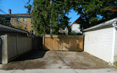 Toronto gardening services Hillcrest backyard cleanup after Paul Jung