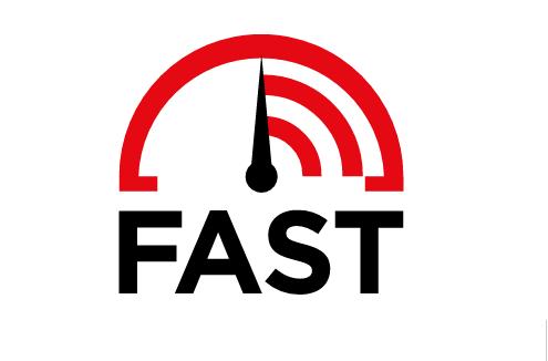 خدمة fast لقياس سرعة النت من شركة netflix