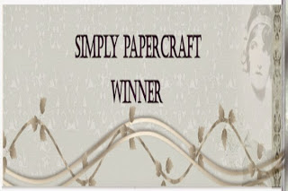 Winner At Simply Papercraft