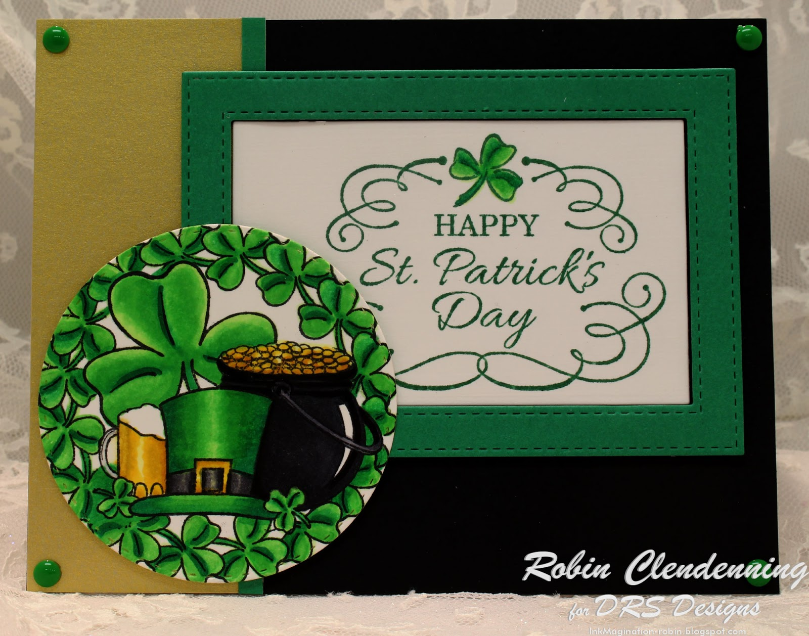 Everything Irish Rubber Stamp By DRS Designs
