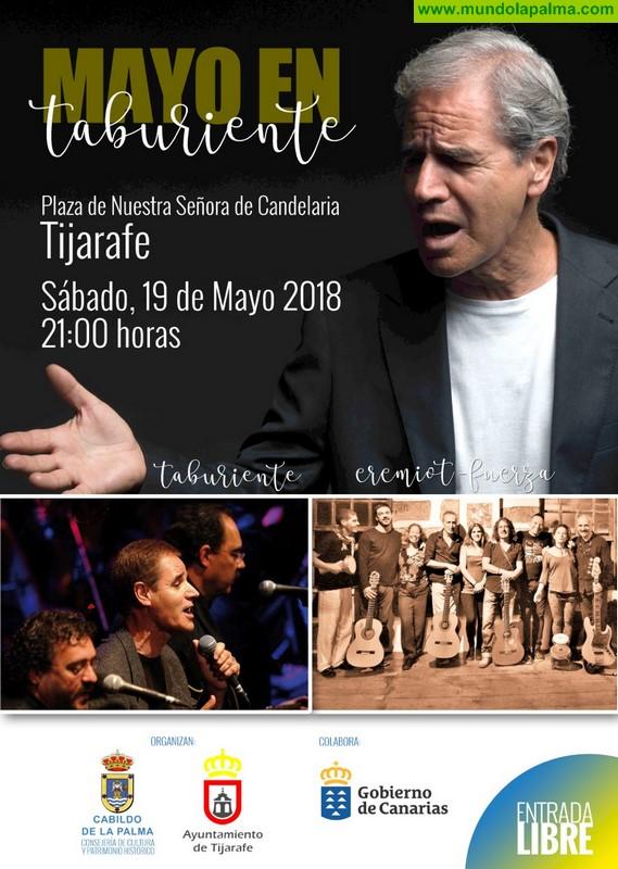 Tijarafe acoge este sábado una nueva edición del festival 'Mayo en Taburiente'