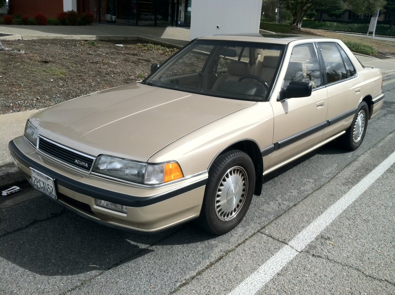 Tamerlane's Thoughts: Carspotting: 1989 Acura Legend