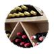 Armario de vinos de restaurante