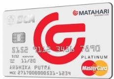 Kartu Kredit BCA MasterCard Matahari