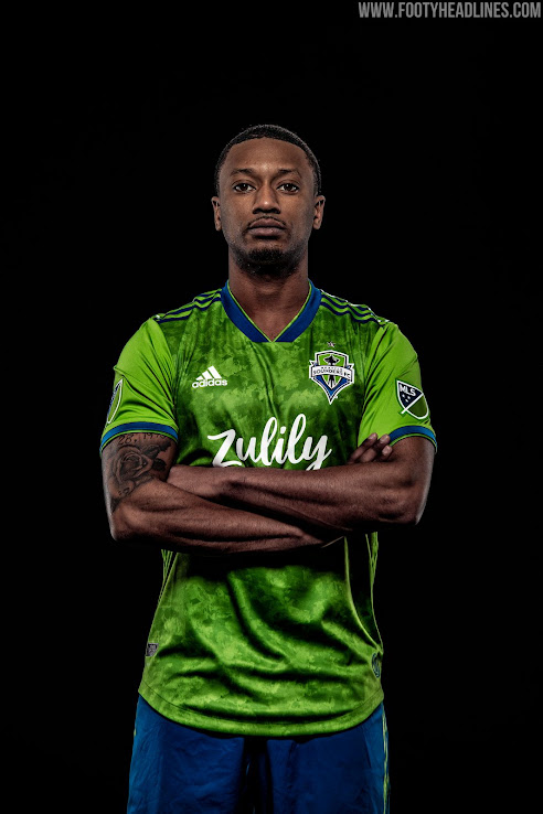 newest d741e d2d17 No More Xbox: Seattle Sounders 2019 Home Kit Revealed ...