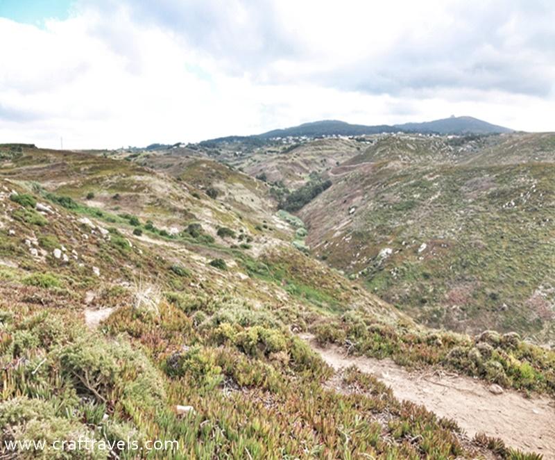 przyroda na Cabo da Roca, co rośnie na Cabo da Roca, Cabo da Roca na krańcu Europy