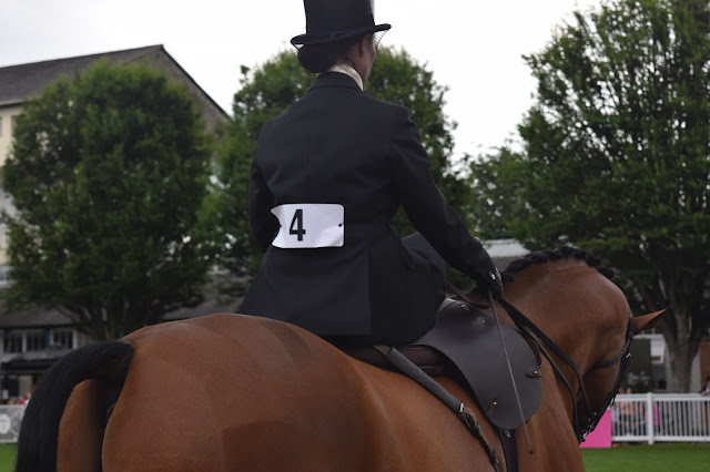 Dublin Horse Show side-saddle horses Dublin riding women sport