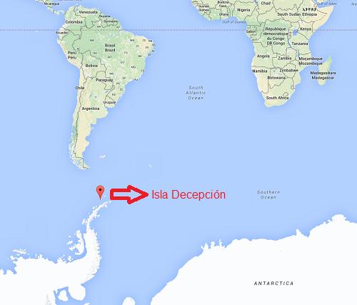 Isla Decepción Base Militar Gabriel de Castilla