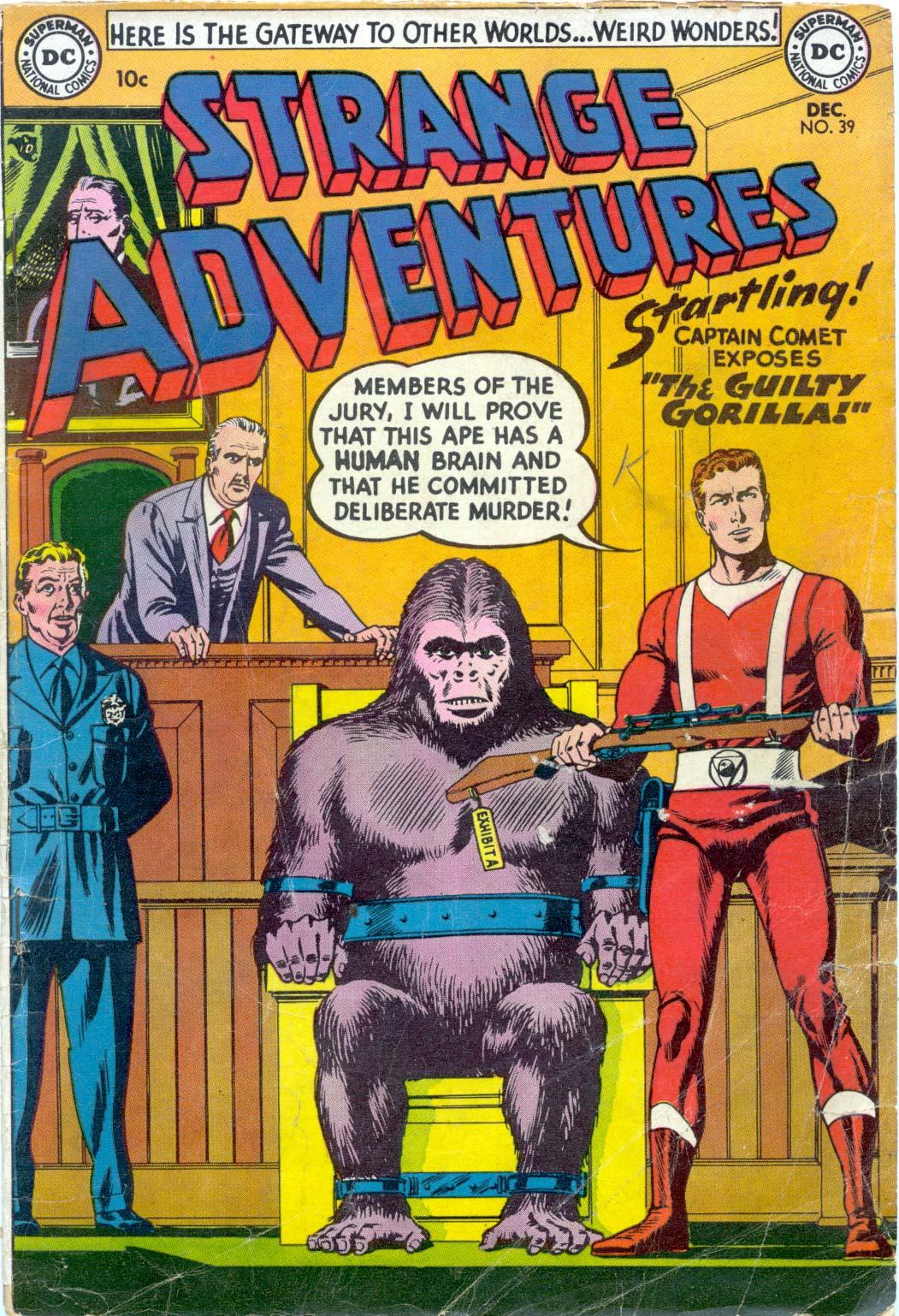 Strange Adventures (1950) issue 39 - Page 1