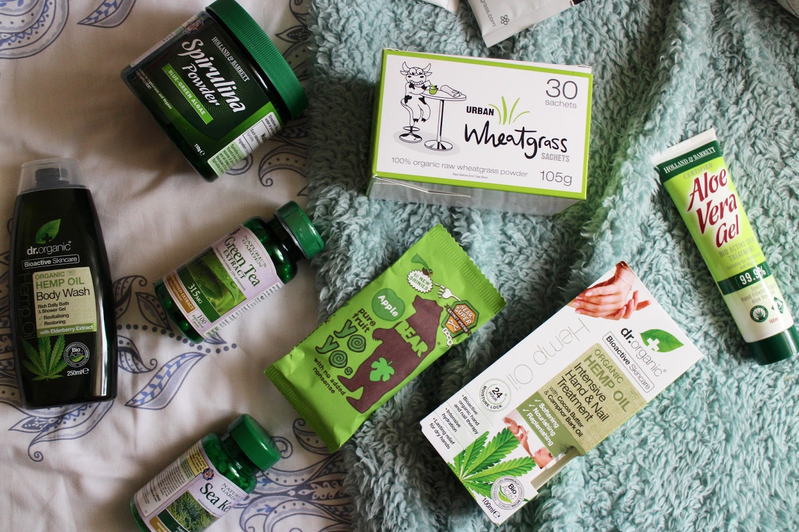 holland and barrett giveaway green