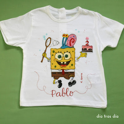 Camiseta personalizada Bob Esponja