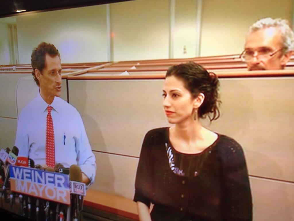 Anthony Weiner, aka Carlos Danger, videobombed by Cubicle