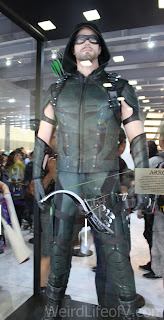 Green Arrow costume from the WB show