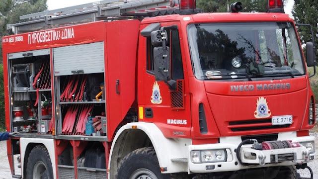Η Περιφέρεια Πελοποννήσου συνδράμει την Πυροσβεστική