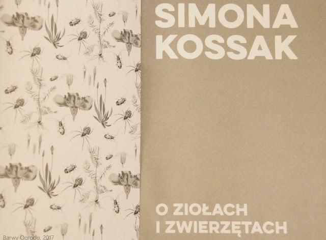 książka o ziołach i zwierzętach