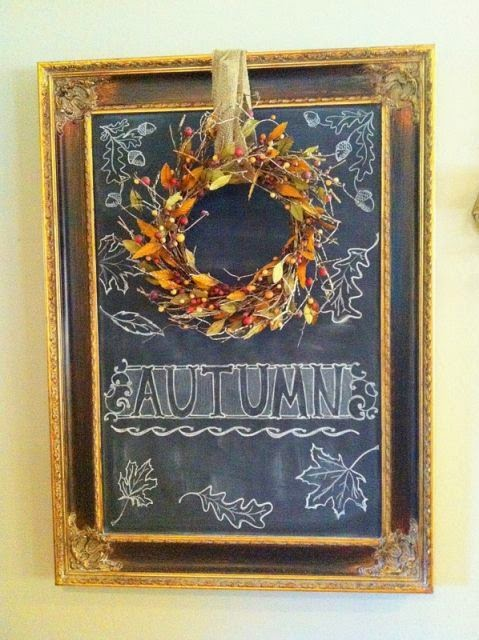 Vintage Show Off Chalkboard Message Ideas For Halloween