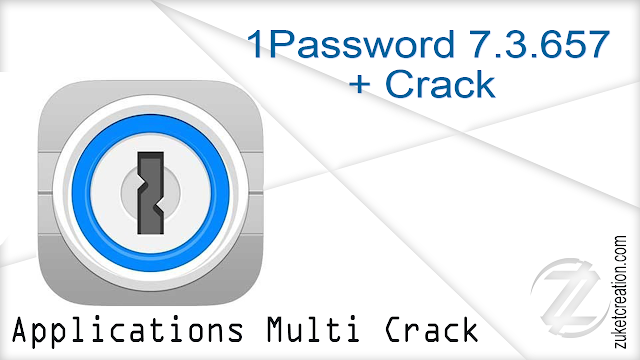 1Password 7.3.657 + Crack