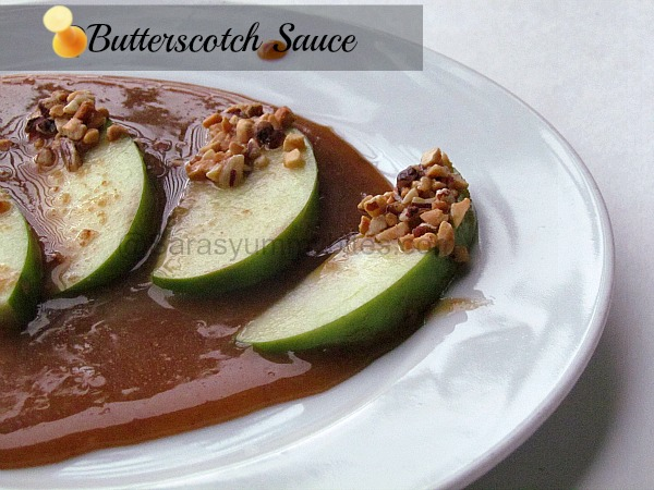 Butterscotch Sauce