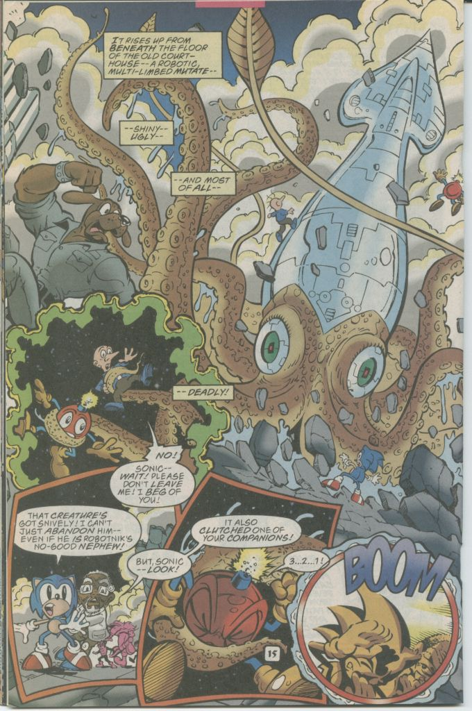 Read online Sonic The Hedgehog comic -  Issue #70 - 20